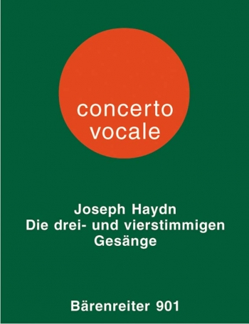 Part Songs for Three and Four Mixed Voices. : Choral: (Barenreiter)