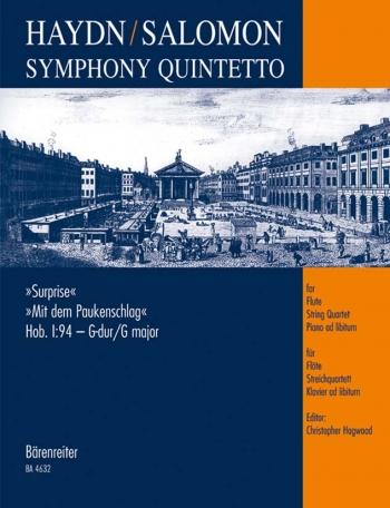 Symphony No. 94 in G (Hob I:94) arranged for Chamber Ensemble. : Mixed Ensemble: (Barenreiter)
