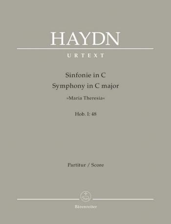 Symphony No. 48 in C (Maria Theresia) (Hob.I:48) (Urtext). : Large Score Paperback: (Barenreiter)