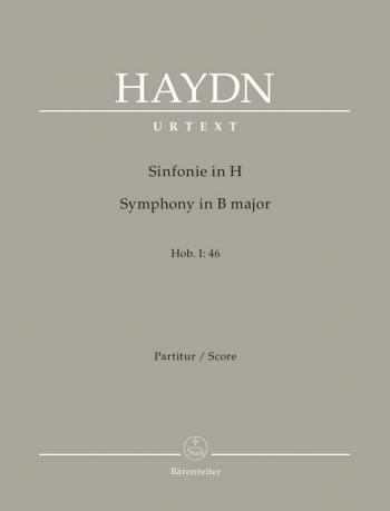 Symphony No. 46 in B (Hob.I:46) (Urtext). : Large Score Paperback: (Barenreiter)