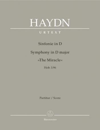 Symphony No. 96 in D (The Miracle) (Hob I:96) (Urtext). : Large Score Paperback: (Barenreiter)