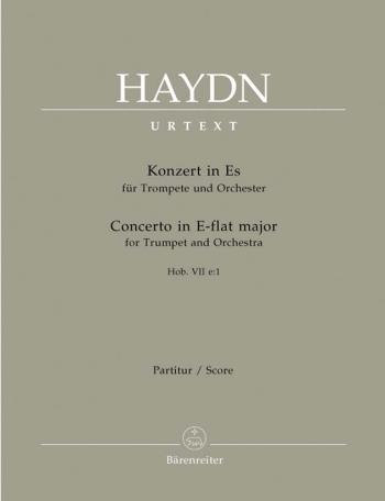 Concerto for Trumpet in E-flat (Hob.VIIe:1) (Urtext). : Large Score Paperback: (Barenreiter)