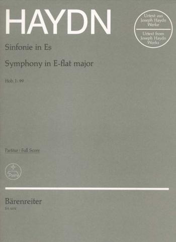 Symphony No. 99 in E-flat (Hob.I:99) (London No.7) (Urtext). : Large Score Paperback: (Barenreiter)