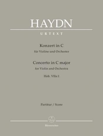 Concerto for Violin in C (Hob.VIIa:1) (Urtext). : Large Score Paperback: (Barenreiter)