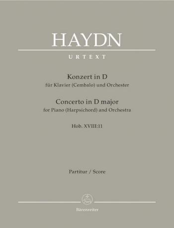 Concerto for Piano (Harpsichord) in D (Hob.XVIII:11) (Urtext). : Large Score Paperback: (Barenreiter