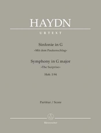 Symphony No. 94 in G (Surprise) (Hob.I:94) (Urtext). : Large Score Paperback: (Barenreiter)