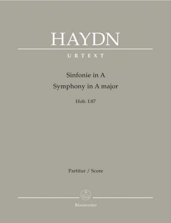 Symphony No. 87 in A (Hob.I:87) (Urtext). : Large Score Paperback: (Barenreiter)