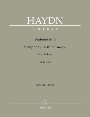 Symphony No. 85 in B-flat (La Reine) (Hob.I:85) (Urtext). : Large Score Paperback: (Barenreiter)
