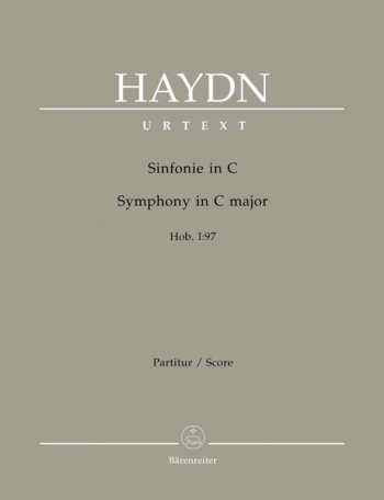Symphony No. 97 in C (Hob.I:97) (Urtext). : Large Score Paperback: (Barenreiter)