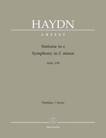 Symphony No. 95 in C minor (Hob.I:95) (Urtext). : Large Score Paperback: (Barenreiter)