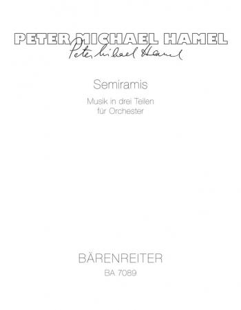 Semiramis, Music in Three Parts. : Study score: (Barenreiter)