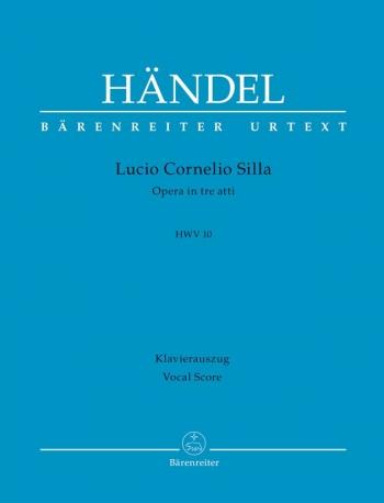 Lucio Cornelio Silla (HWV 10) (It) (Urtext). : Vocal Score: (Barenreiter)