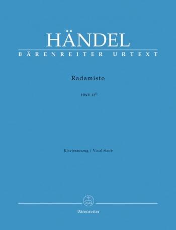 Radamisto (HWV 12b) (2nd version) (It) (Urtext). : Vocal Score: (Barenreiter)