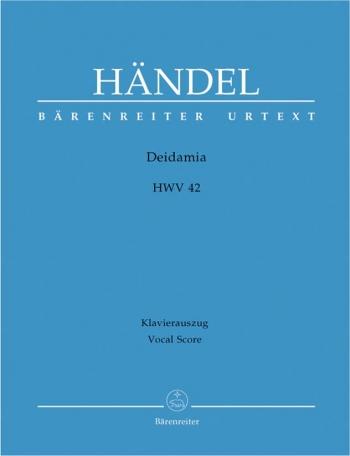 Deidamia (HWV 42) (It-G) (Urtext). : Vocal Score: (Barenreiter)
