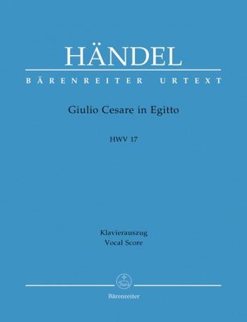 Giulio Cesare in Egitto (HWV 17) (It-G) (Urtext). : Vocal Score: (Barenreiter)