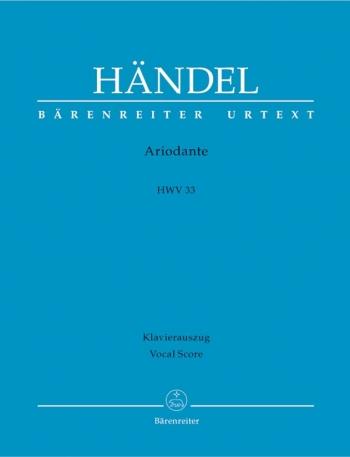 Ariodante (HWV 33) (It-G) (Urtext). : Vocal Score: (Barenreiter)