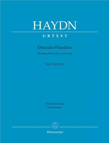Orlando Paladino (Hob.XXVIII:11) (It) (Urtext). : Vocal Score: (Barenreiter)