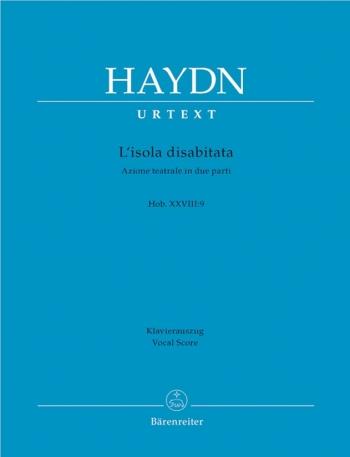 L'isola disabitata (Hob.XXVIII:9) (It) (Urtext). : Vocal Score: (Barenreiter)