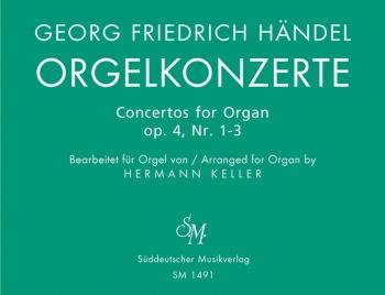 Concerto for Organ Op.4, Bk. 1 Nos 1 - 3 (arranged for solo organ). : Organ: (Barenreiter)