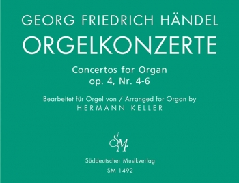 Concerto for Organ Op.4, Bk. 2 Nos 4 - 6 (arranged for solo organ). : Organ: (Barenreiter)