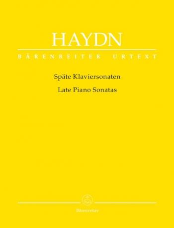 Late Piano Sonatas (Urtext). : Piano: (Barenreiter)