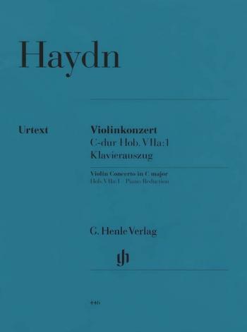 Violin Concerto C Major (Hob.VIIa:1) (Urtext): Violin & Piano (Henle)