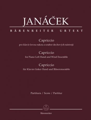 Capriccio for Piano (Left Hand) and Wind Ensemble (Urtext). : Mixed Ensemble: (Barenreiter)
