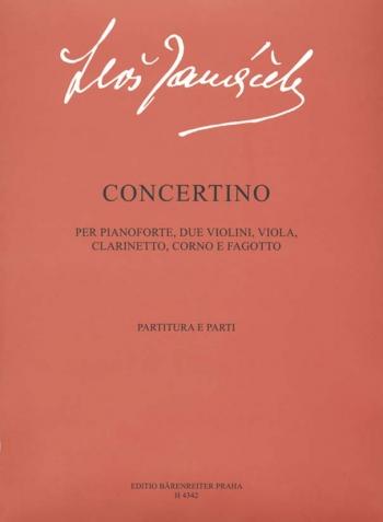 Concertino. : Mixed Ensemble: (Barenreiter)