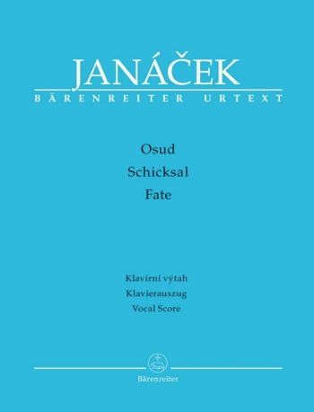 Osud (Fate) (Cz-G) (Urtext). : Vocal Score: (Barenreiter)