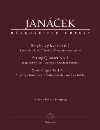 String Quartet No.1 (Inspired by Tolstoy's Kreutzer Sonata) (Urtext).: String Quartet: (Barenreiter)