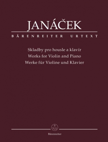 Works for Violin and Piano (Urtext). : Violin & Piano: (Barenreiter)