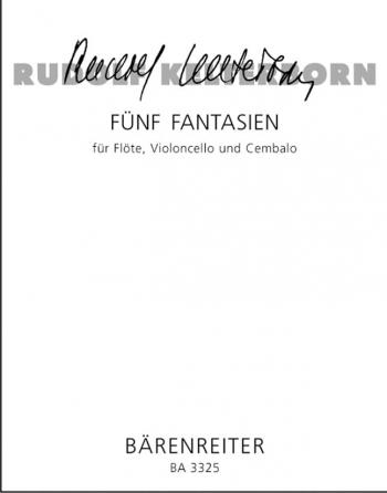 Fantasies (5) (1958). : Mixed Ensemble: (Barenreiter)