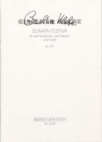Sonata Festiva Op.131 (1999). : Mixed Ensemble: (Barenreiter)