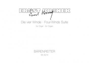 Four Winds Suite, Op.223 (1975). : Organ: (Barenreiter)