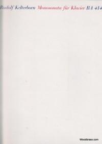 Monosonata (1965). : Piano: (Barenreiter)