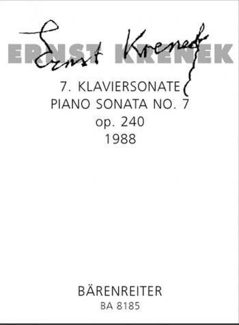 Piano Sonata No.7, Op.240 (1988). : Piano: (Barenreiter)