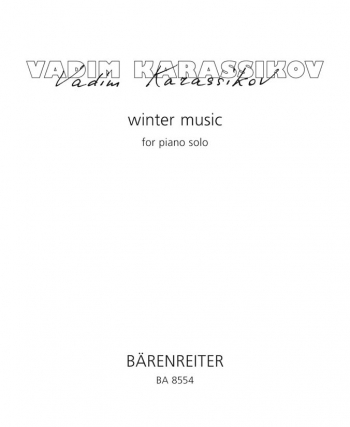 Winter Music (1995). : Piano: (Barenreiter)