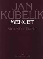 Minuet (1930). : Violin & Piano: (Barenreiter)