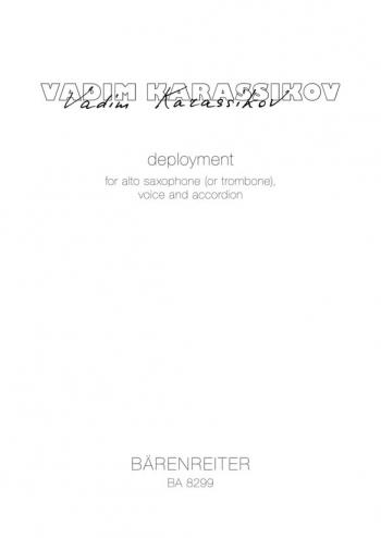 Deployment (1998-2002). : Voice: (Barenreiter)