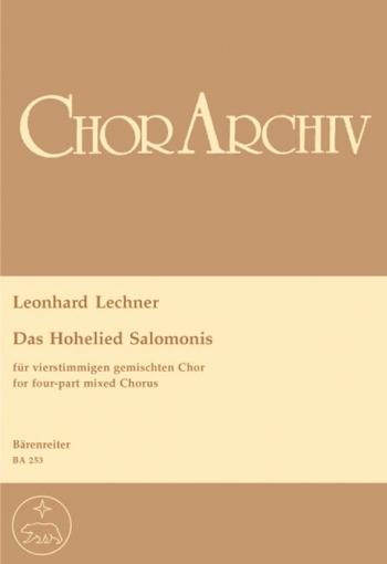 Hohelied Salomonis, Das (Urtext). : Choral: (Barenreiter)