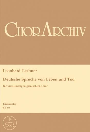 Deutsche Sprueche von Leben und Tod (Urtext). : Choral: (Barenreiter)