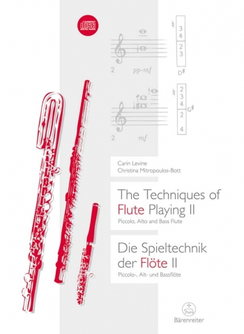 Techniques of Flute Playing (E-G).  Vol. 2: Piccolo, Alto and Bass. : Book: (Barenreiter)