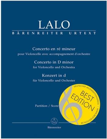 Concerto for Violoncello in D minor (Urtext). : Large Score Paperback: (Barenreiter)