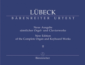 Complete Organ and Keyboard Works, Vol. 2 (including works by Vincent Luebeck Junior) (Urtext).: Org