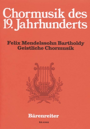 Sacred Choral Music. Selected for use in Church Service (G). : Choral: (Barenreiter)