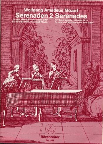 Serenade No. 2 in C (orig B-flat) (K.439b). : Mixed Ensemble: (Barenreiter)