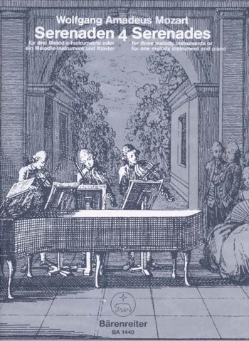 Serenade No. 4 & 5 in C (orig B-flat) (K.439b). : Mixed Ensemble: (Barenreiter)