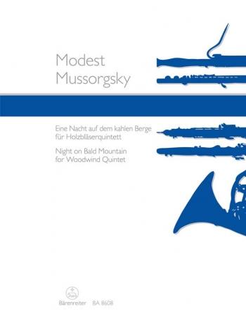Night on Bald Mountain arranged for Woodwind Quintet. : Wind Ensemble: (Barenreiter)