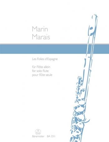 Les folies d'Espagne. : Flute Solo: (Barenreiter)