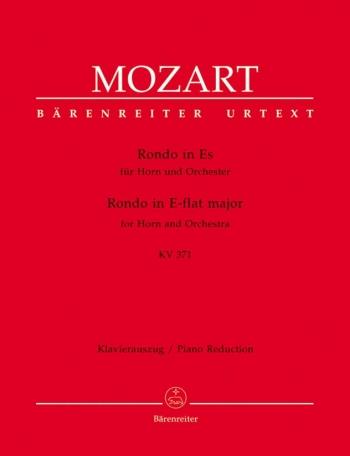 Rondo in E-flat (K.371) (Urtext). : Horn & Piano: (Barenreiter)